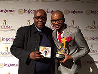 Pastor Lungi Ndala wins Album of the year at the INGOMAs 2016